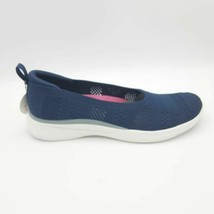 Ryka Womens Maisey Sneakers Shoes Blue Memory Foam Low Top Perforated 9M M New - $42.56