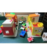 Vintage Fisher Price Little People Play Family Village - $147.25
