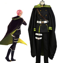 Seraph of the End Yoichi Saotome Uniform Cosplay Costume - $125.99