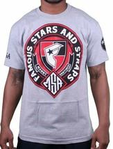 Famous Stars & Straps X Msa Honor Manny Santiago Skate Gris Camiseta Nwt