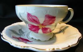 Rosenthal Pompadour Beatrice Demitasse/Espresso Footed Cup & Saucer - $21.99