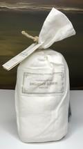 Restoration Hardware Vintage-Washed Belgian Linen Standard Sham Ivory NEW $99 - $47.99