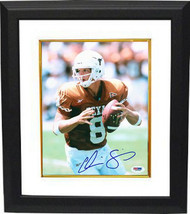 Chris Simms signed Texas Longhorns 8X10 Photo Custom Framed- PSA Hologra... - $74.95