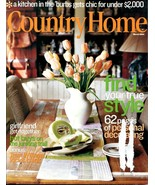 COUNTRY HOME Magazine - March Issue 2004 - $6.00