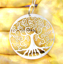 Free W Ooak Haunted Necklace 3X 9 Trees Strengths Celtic Magick 7 Scholars - $0.00