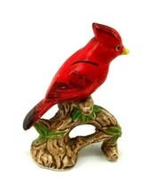 Red Cardinal Figurine Ceramic Made in Japan - $40.00