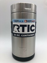 Brand New RTIC 25oz Food Container ~ STAINLESS STEEL Insulated Canister 637 - $20.50