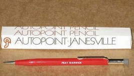 Lot of 2  Red Peat Marwick Autopoint Mechanical Pencil KPMG RED Color - $24.95