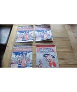 Pinocchio (1940) plus 3 Very Nice Show White & Seven Dwarfs (1937, 1938) - $17.69