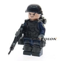 British military army soldiers building blocks diy mini brick figures Co... - $0.99