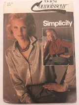 Simplicity Sewing Pattern 6587 Misses Pussybow Blouse Dressy Career  Sz ... - $9.99