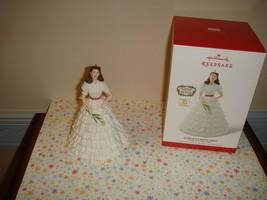 Hallmark 2014 Scarlett's White Dress Limited Edition Ornament - $18.99