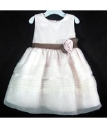 Toddler Easter Dress Dressy Occasion Holiday Wedding Pale Pink Rare Edit... - $8.90