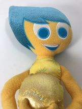 """Disney Collection Inside Out Joy plush doll 16"""" tall stuffed Blue and Yellow image 5"""