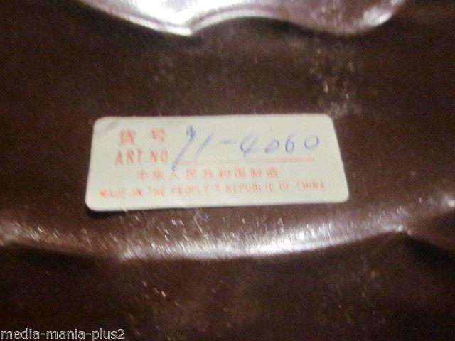 VINTAGE HAND PAINTED METAL PAIR OF DUCK SHAPED COAT TOWEL HOLDER 4  HOOKS image 3