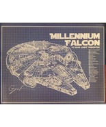 Blueprint US Patent Print 18x24 Posters Starwars Harley Browning X Wing ... - $24.95