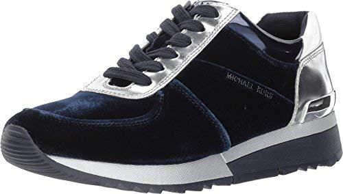Michael Kors Allie Trainer Sneakers Velvet Admiral (9.5 M US)