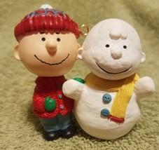 Hallmark Keepsake Ornament 1993 #1 Peanuts Gang Series Linus Snowman - $18.00
