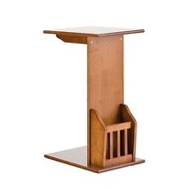 Southern Enterprises Mission Magazine Snack Table HZ1102H Table NEW - $72.98