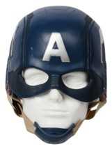 Captain America 3: Civil War Helmet Movie Cosplay Props for Adult image 1