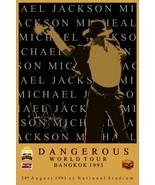 """Michael Jackson 24 x 36 1993 Bangkok Dangerous Tour"""" Reprint Poster - Co... - $50.00"""