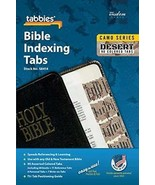Camo 'Desert' Bible Indexing Tabs by Tabbies Brand New Free Expedited Sh... - $8.66