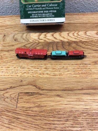 Freedom Train Locomotive Hallmark Keepsake Ornament Lionel NIB