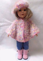 """18"""" Poncho Cape to fit American Girl, My Life, Our Generation - Sports C... - $12.99"""