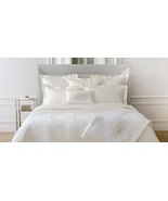 Yves Delorme Palmbay Ivory King Duvet Tropical Palm Leaves Egyptian Cott... - $400.00