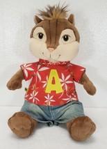 "Build A Bear Alvin & The Chipmunks Alvin Chipwrecked 14"" Hawaiian Shirt ... - $14.99"