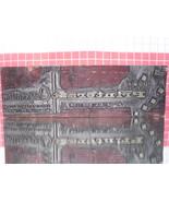 Vintage Letterpress Block - Mid-Century Printing Shop Logo - Meadville, Pa - $15.00
