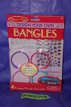 Melissa & Doug Design Your Own Bangles Jewelry Making Craft Kit - $11.87