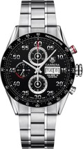 Tag Heuer Men's CV2A1R.BA0796 Carrera Chrono Automatic Stainless Steel W... - $4,564.88