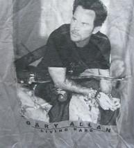 T-Shirt Concert Garry Allan  Living Hard Tour 2007 size small - $39.95
