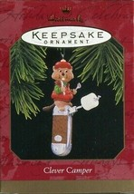 1997 New in Box - Hallmark Keepsake Christmas Ornament - Clever Camper - $4.94