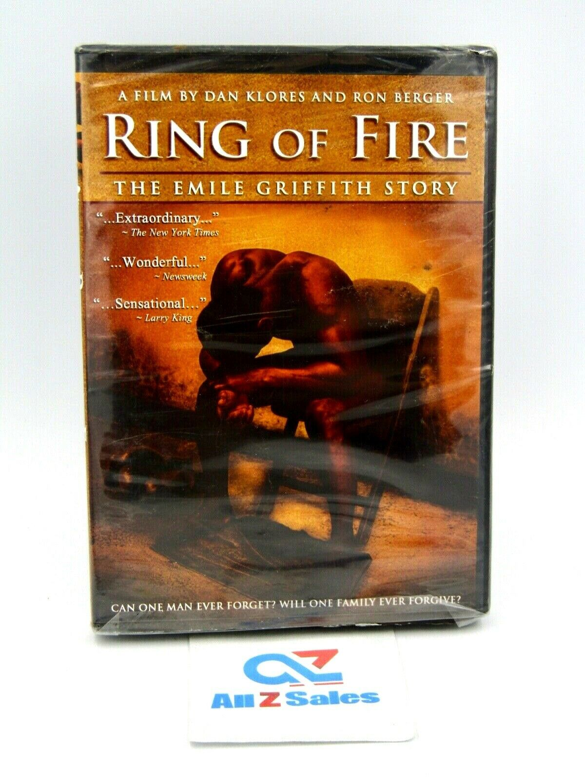 Primary image for Ring Of Fire - The Emile Griffith Story (DVD, 2005) BRAND NEW! SEALED!