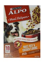 Purina ALPO Meal Helpers Dog Food Roast Beef & Chicken Flavors - NEW FRE... - $11.92