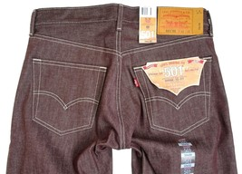 NEW NWT LEVI'S 501 MEN'S ORIGINAL FIT STRAIGHT LEG JEANS BUTTON FLY 501-1207