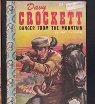 Davy Crockett Danger from the Mountain Triple Nickel Book 1955 - $14.03
