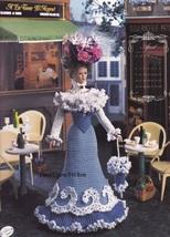 Miss April 1995, Annie's Bridal Trousseau Crochet Doll Clothes Pattern 7804 - $3.95