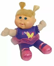 """Cabbage Patch Kids Blonde hair & Blue Eyes Butterfly Outfit 8"""" Sitting - $16.36"""