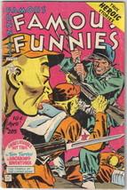 Famous Funnies Comic Book #205, War Stories 1953 FINE- - $28.94