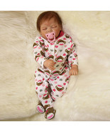22inch Reborn Baby Doll Silicone Handmade Lifelike Girl Play House Toy - $150.29