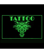 100083 Get Inked Body Art Tattoo Piercing Design Display LED Light Sign - $17.98