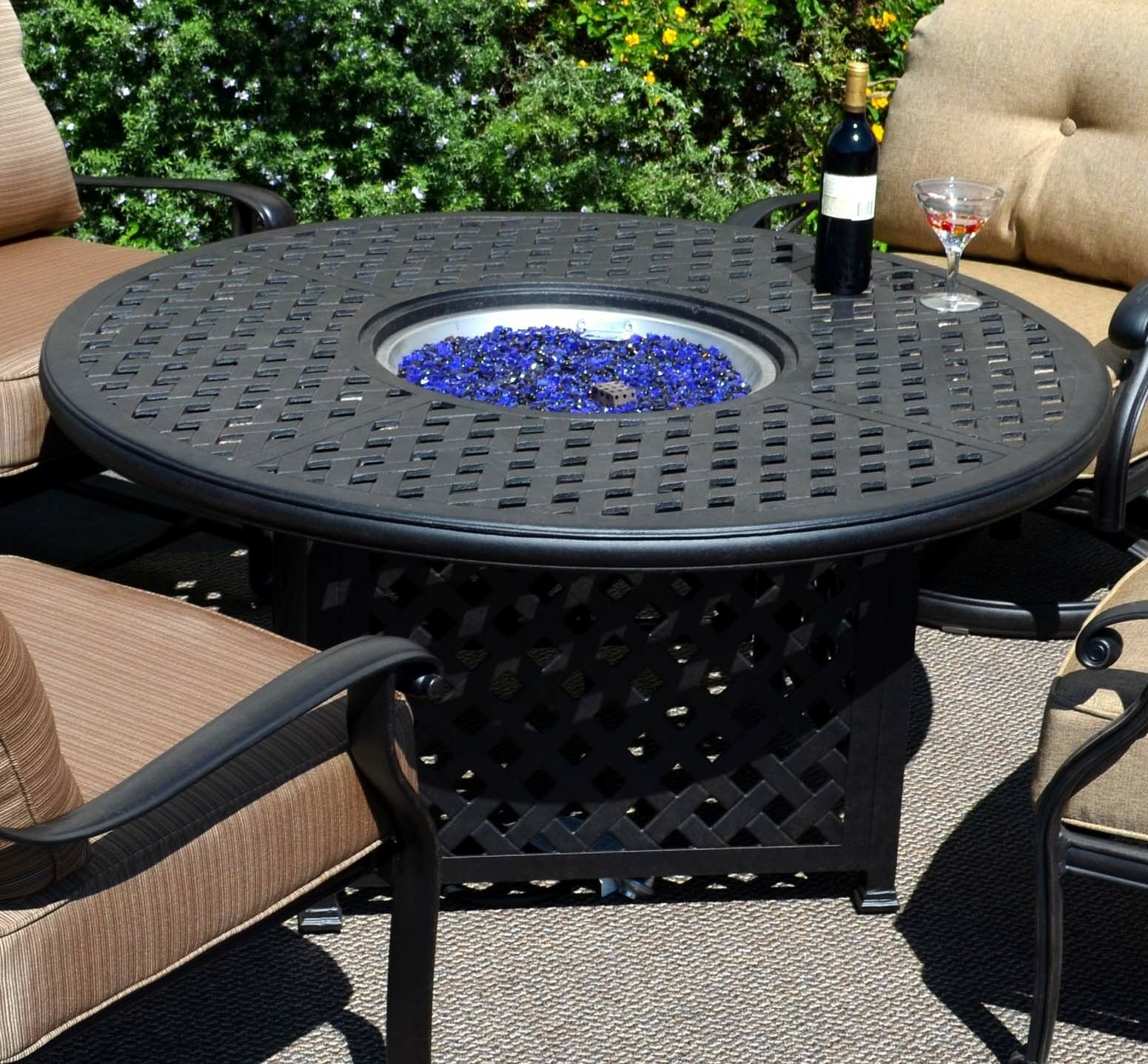 Propane 5pc Patio Furniture Outdoor