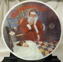 """Vintage Norman Rockwell 1986 Limited-Edition Christmas Plate """"Deer Santy... - $14.99"""