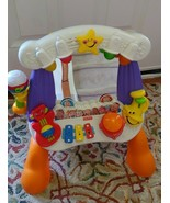 Fisher Price Little Superstar sing along stage music lights mirror baby ... - $59.39