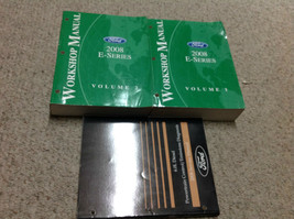 2008 Ford Econoline E-Series Van Service Shop Repair Manual Set OEM W 6.... - $89.09