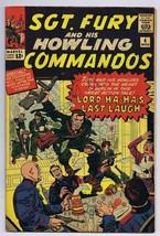 Sgt Fury and His Howling Commandos #4 ORIGINAL Vintage 1963 Marvel Comic Book - $74.65