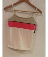 Freestyle by Danskin Medium Tank Top striped athletic womens Juniors NWT - $9.95